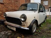 Austin MINI DESIGNER, August 1988, 998 cc, White, Cat C, Spares or Repairs