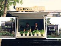 kiosk food trailer street food east london
