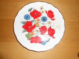 Royal Albert Limited Addition Plate -Cornfield of Poppies