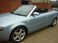 ** 6 SPEED CONVERTIBLE ** 2004 AUDI A4 SPORT 2.4 CABRIOLET CONVERTIBLE 6 SPEED PETROL - GREAT CAR