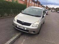 Toyota Corolla verso 7 month Mot run and drive fine