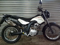 Derbi Senda SM125 Cross City - Immaculate with 6 months manufactureres warranty, 3126 miles. £1395