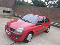 Automatic,Low Mileage,8 Months MOT,Renault Clio expression,£750 (like Vw ,BMW, Astra,ford, Vauxhall)
