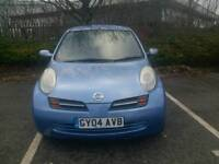 NISSAN MICRA 2004 MOT TILL 18/06/2017 2LADY OWNERS EXCELLENT CONDITION HPI CLEAR