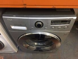 LG 8KG WASHING MACHINE SILVER RECONDITIONED