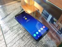 Great condition Unlocked Samsung Galaxy S9 64GB Coral Blue