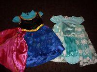 Frozen girls dress up-12-18mths