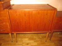 Danish sideboard with sliding door