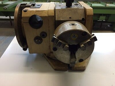 Teileapparat / Teilekopf mit Backenfutter