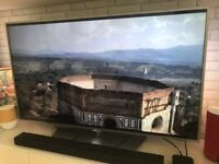 55 inch Philips 6500 series 4K Ultra Slim LED TV with 2-sided Ambilight