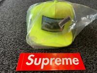 Genuine supreme tank Cap with box logo sticker