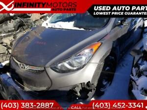 2012 HYUNDAI ELANTRA FOR PARTS PARTING OUT CARS CAR PARTS