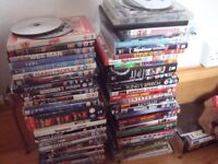 DVDs - mixed collection (mostly 12 x 15 ) includes Oceans 11, King's Speech - cheap for quick sale