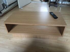 WOODEN TV TABLE perfect condition