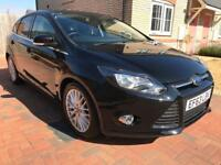 2013 Ford Focus 1.0 SCTi EcoBoost Zetec 5dr, ONO, ROAD TAX £30, MOT SEPT 2019, BLUETOOTH!