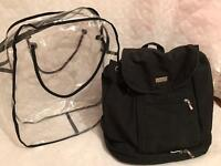 Rucksack style baby bag