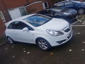 Vauxhall corsa white