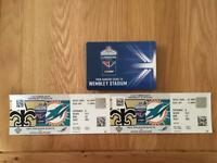 New Orleans saints vs Miami dolphins 2017 tickets