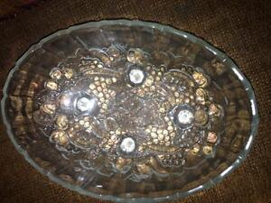 Crystal plates and bowls, perfect for parties! Cornwall Ontario image 4