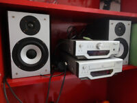 Hi-fi system STEREO, Amplifier Tuner, CD Component