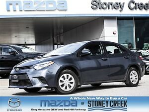 2015 Toyota Corolla CE LOW KMS, Bluetooth, Keyless Entry!