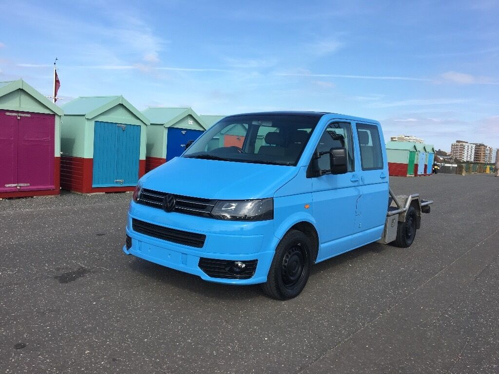 VW T5 TRANSPORTER DOUBLE CAB SPORTLINE 174BHP FACELIFT ONE OFF PX WELCOME
