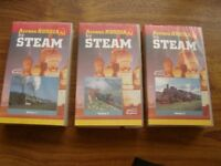 Steam Train documentary VHS set