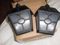 SET of 2 SOLAR WALL LIGHTs (Brand New & Boxed)