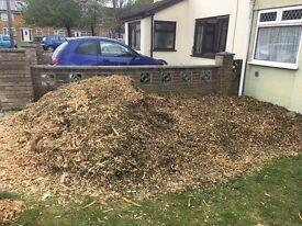 2 tonne of woodchip