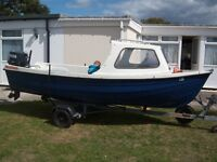 14 foot orkney coastliner and trailer in good condition