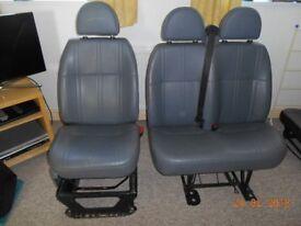 2011 TRANSIT DRIVERS & DOUBLE PASSANGER SEATS VGC LOW MLG VAN