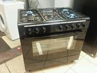 New graded swan 90cm duel fuel range cooker