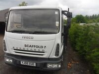 IVECO EURO CARGO 75E17 06 REG FULL TEST 20 FOOT FLAT BED 1 OWNER BIRTLEY CAR SALES DH3 1PR