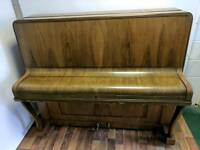 Stunning Oak 'Crane & Sons' Upright Console Piano - CAN DELIVER