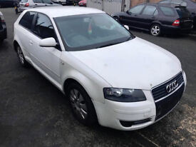 2005 AUDI A3 1.6 PETROL,,'BREAKING' Manual,ALL PARTS AVAILABLE FOR SALE