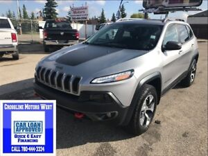 2016 Jeep Cherokee TRAILHAWK   LOADED ALL THE OPTION PRICED TO S