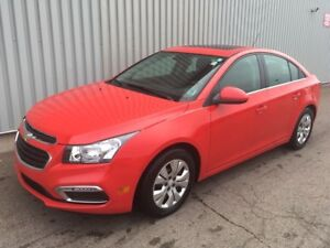2015 Chevrolet Cruze 1LT FACTORY WARRANTY | LOW KMs | BACKUP...
