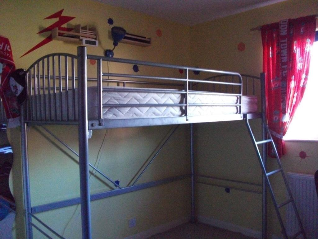 Gumtree Electric Adjustable Beds : High sleeper bed with mattress in grange park wiltshire
