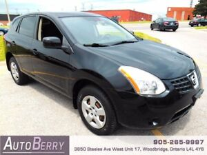2008 Nissan Rogue 2.5L S **CERTIFIED ACCIDENT FREE** $5,999
