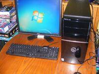 dell vostro computer 220 quad-core 4gb memory 500gb harddrive complete system