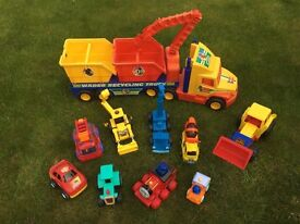 Kids vehicles collection
