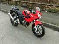 Honda cbr 125cc 12 months mot 2007