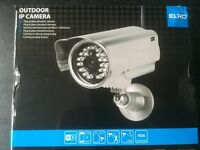 Outdoor WIFI NETWORK IP, SECURITY CAMERA. NEW.