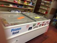 3 DISPLAY CHEST FREEZERS- sold together at discount or individual purchase avbl