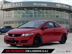 2009 Honda Civic LX SR: ECONOMICAL WITH COMMAND START AND SUNROO