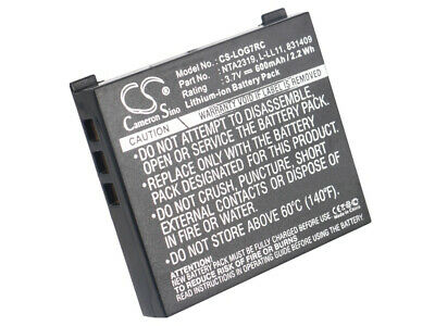 190310-1000  190310-1001  Battery for Logitech G7 Laser Cordless Mouse  MX Air