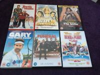 comedy dvds,50p each