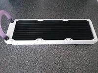 XSPC EX360 White 360mm Triple fan Radiator