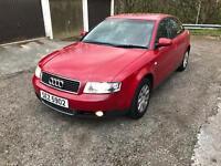 A4 1.9 tdi 5 speed 10 month mot drive away cheap £600 no offers 180k