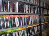 Approx 5000 x Various CD'S - Rock - Metal - Pop - Jazz - Blues - Classical etc